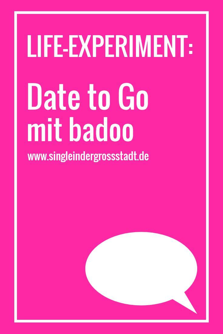 Date to Go mit Badoo  Meine Review von meinem LIFE-EXPERIMENT - Am Samstag ging es alleine, mit der DatingApp Badoo ins Hamburger Nachtleben.  Wie ist das, wenn man ein Date sofort haben möchte, da man ja gerade eh unterwegs ist. Kein getipptes Kennenlernen, sondern zack, Nägel mit Köpfen machen – ein Date to Go.  Onlinedatig, DatingApp, Liebe, Single, Kennenlernen,