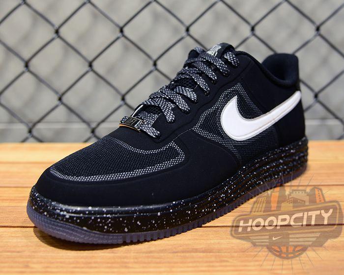 Nike Lunar Force 1 Fuse - Black / White