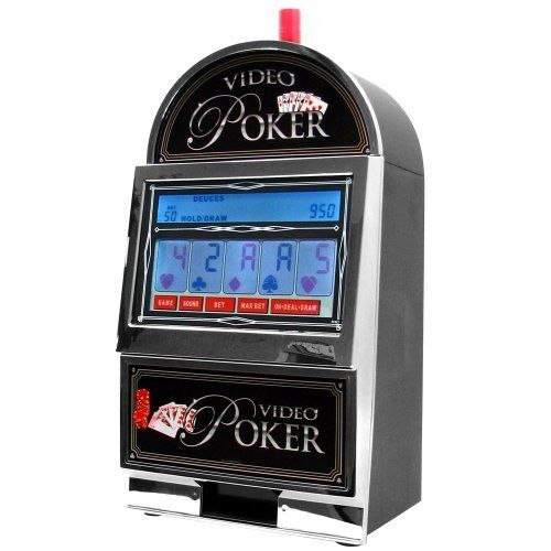 John N. Hansen Company Mega Screen Video Poker with Back-Lit Color LCD Touch-Screen by RecZone. $199.99. This seven in one video poker game provides a realistic casino experience for everyone. With a beautiful touch screen and back-lit LCD playing area this machine will light up any room.