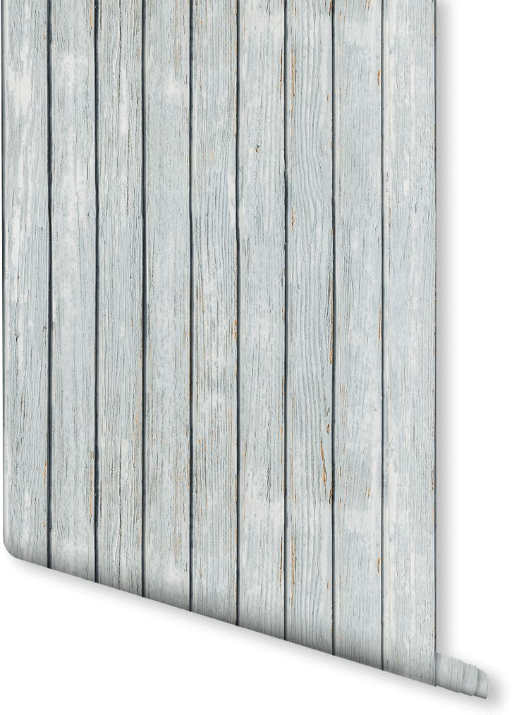 White Wood Effect Wallpaper Part - 34: Get The Rustic Look With This Wood Effect Wallpaper Design. Slightly Pale  Blue Tints Give
