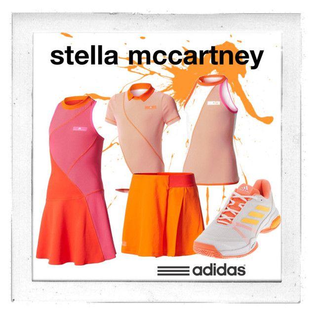 """New Girl's Tennis Gear from adidas"" by tennisexpress"