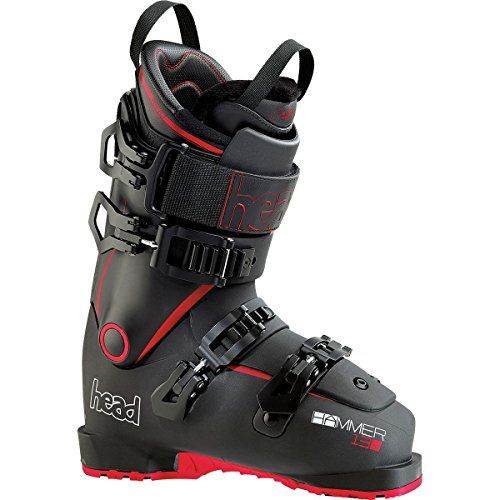 Charge the mountain with the Head Skis USA Hammer 130 Ski Boot. Incorporating a three-piece shell with 360-degrees of foot and shin protection, this aggressive boot allows you to drop cliffs without having to brace for shin bang, drive your heavy skis through powder packed trees, and shimmy down...