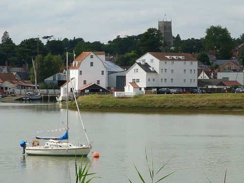 Woodbridge, Suffolk. Such a quaint and unspoilt town.