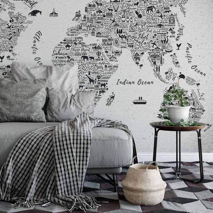 Fototapete Weltkarte - Around the world