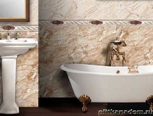 Плитка Antiga для ванной. Испания, два цвета, +для пола, бордюр, цена 1119р/1кв.м.