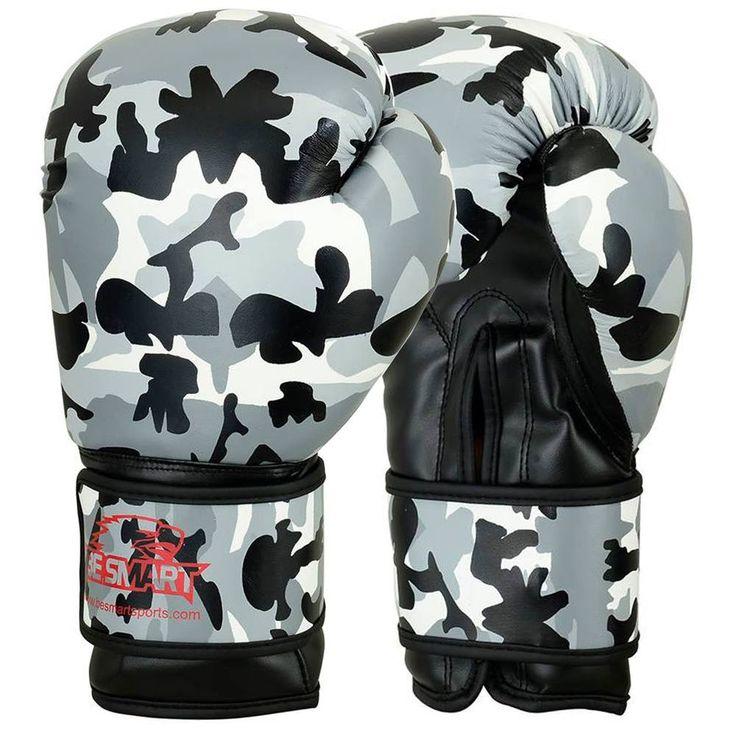 BeSmart Boxing Gloves Bag mens Gym Kick Pads MMA Mitts Muay Thai Training Punch
