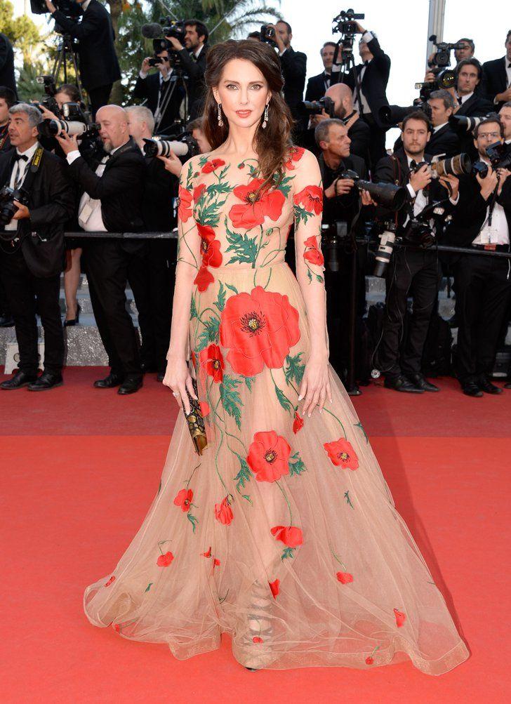 Pin for Later: Ne Manquez Pas un Seul des Looks Vus au Festival de Cannes Jour 7 Frederique Bel