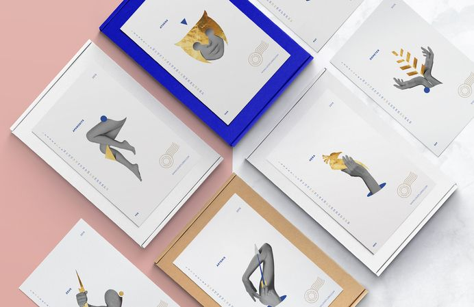 Cool Stuff Around The Web / Love Floris Calendar / Kommigraphics Design Studio | Athens Greece