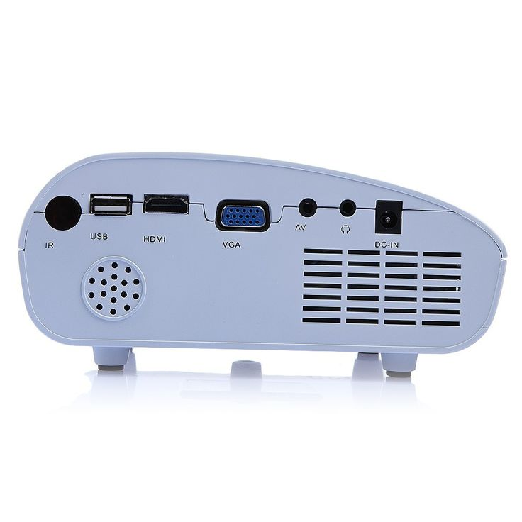 DBPOWER Mini Digital LED Mini Pico Portable Projector
