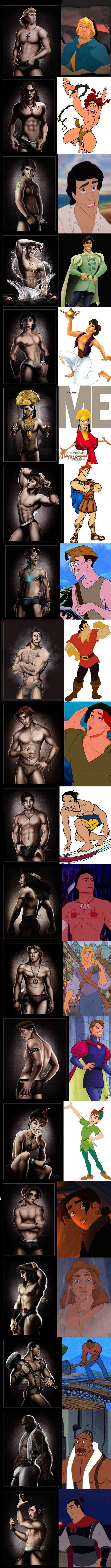 Disney dudes!