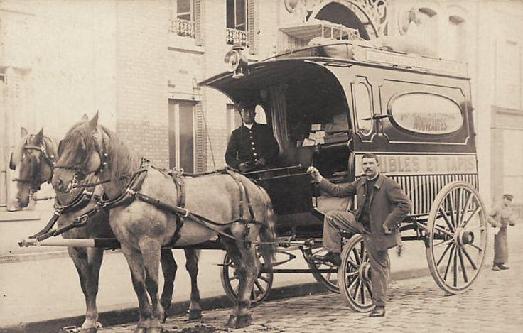 Les moyens de transport du Paris d'antan