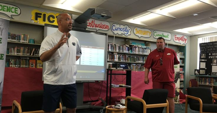 TAMPA, Fla. — Does a high school football prospect need to use a recruiting service? Arkansas coach Bret Bielema, Penn State coach James Franklin and Easte