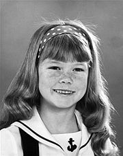 Suzanne J. Crough (March 6, 1963 – April 27, 2015) was an American actress best known for her role as Tracy Partridge, from the hit television sitcom The Partridge Family,[2] which ran from September 25, 1970 - March 23, 1974.