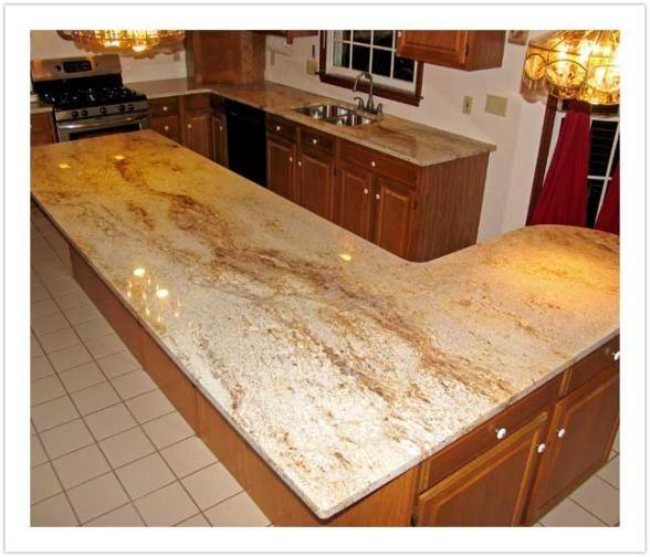 millenium cream ivory gold granite beautiful