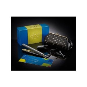 Ghd Professional New Wave Limited Edition Professional Gold Styler with Heat Resistant Styler Bag $249.95
