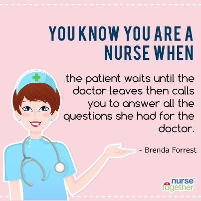 Dating a nurse funny