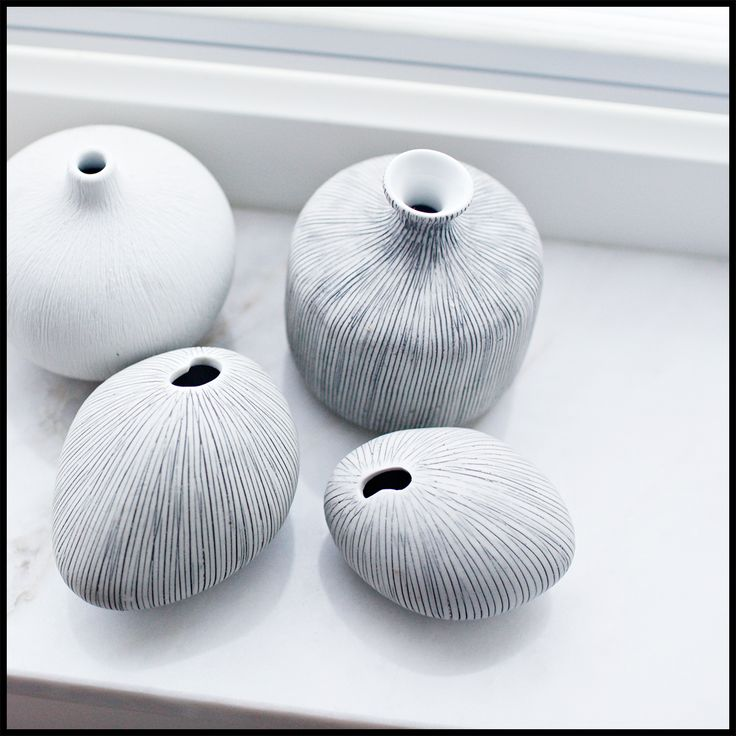 Lindform mini vases from Sweden.