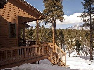 Flagstaff Cabin Rental: Million Dollar Mountain Views - Mountain Solitude In Flagstaff!   HomeAway