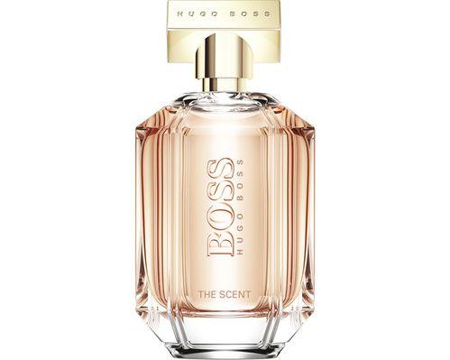 Boss The Scent For Her, Hugo Boss (100 ml, 115 €, en exclu chez Nocibé)