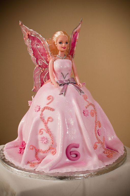 Fairy Barbie Doll Wings Made From Isomelt In 2019 Barbie Cake Barbie Fairy Barbie
