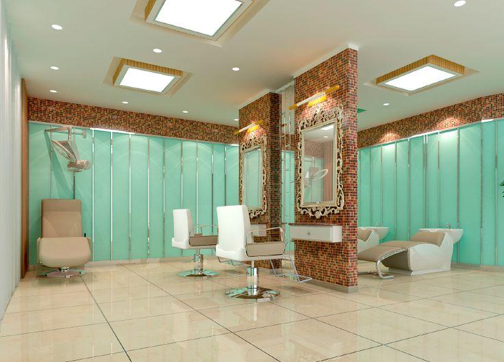 Six stunning ways to use led spotlights home small - Interior hair salon lighting ideas ...