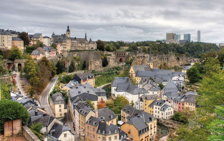 Luxembourg @Molly Linkous  we should stop here too....  It'll be on our train tickets from Holland...