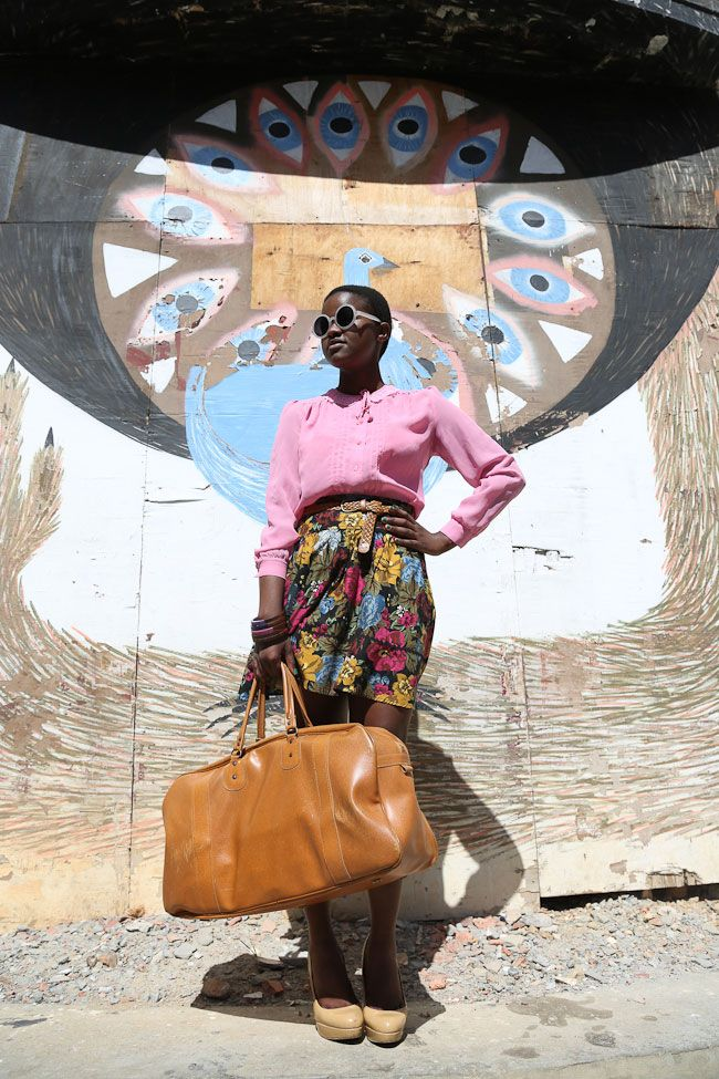 'I really have enough bags'...said no one! Siki Msuseni Cape Town Streetstyle