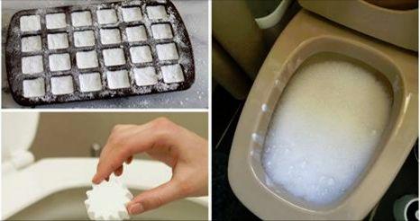 Vous n'aurez plus jamais besoin de frotter vos toilettes si vous utilisez cette bombe nettoyante