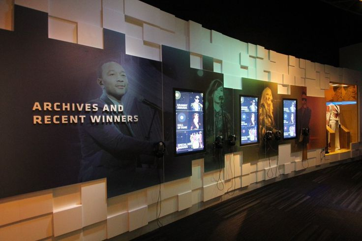 Grammy Museum, design by Mode Systems. Powered by Elo touchscreens.