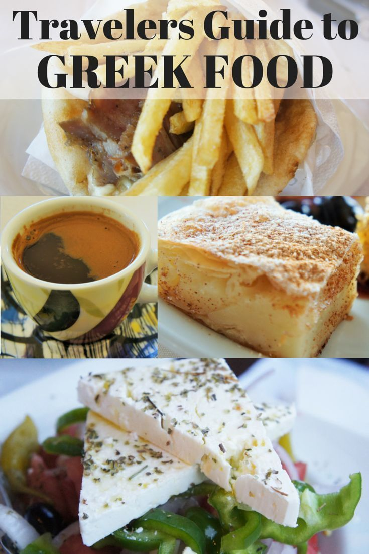 Travel the World: A travelers guide to 33 traditional Greek foods (including their Greek spelling).