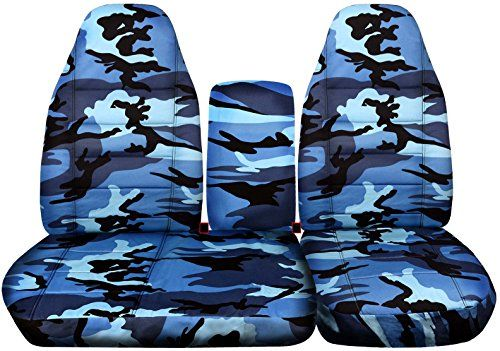 2001 2003 Ford F 150 Camo Truck Seat Covers Front 40 60 Split Bench W Console Molded Adjustable Headrests W Camo Seat Covers Truck Seat Covers Ford Ranger