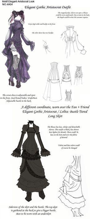 Elegant Gothic Aristocrat by ajasin.deviantart.com