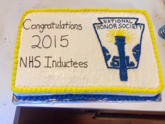 Erin's Cakes: National Honor Society Cake