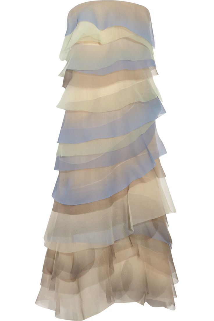 MARC JACOBS Tiered crinkled-organza gown $1,575 http://www.theoutnet.com/products/462540