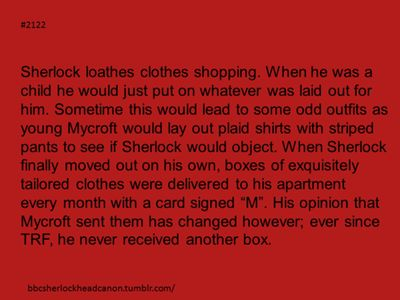 Sherlock Head Canon ooooooooooh!!! Was it Moriarty?????? :D this is an entertaining head canon