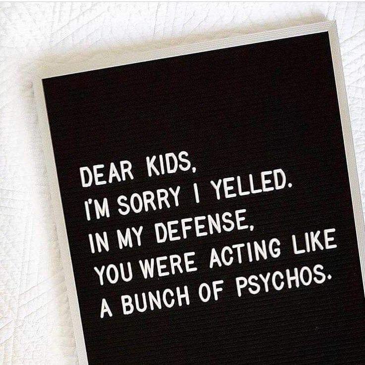 Dear kids
