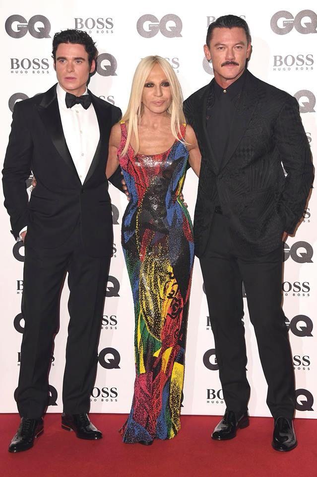 Teamdv Richard Madden Artistic Director Donatella Versace And