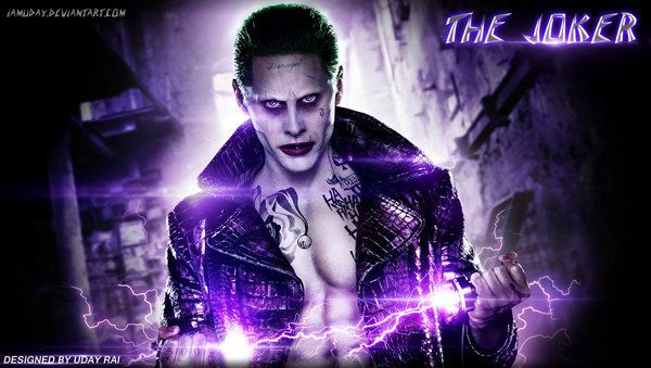 Jared Leto's The Joker Suicide Squad High Quality