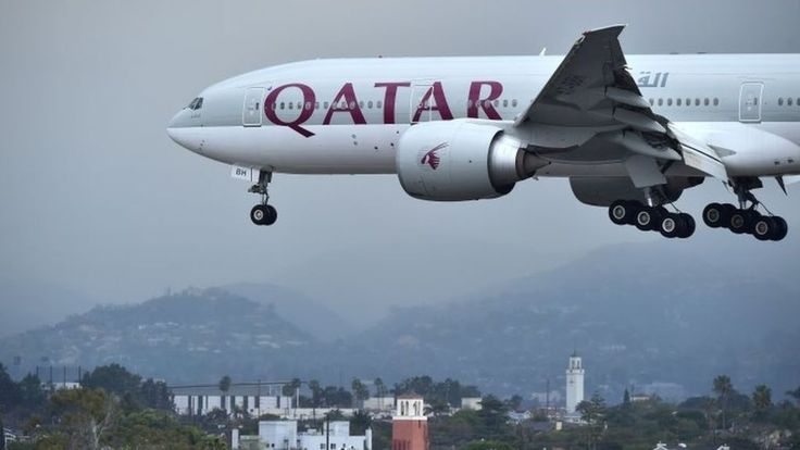 Image copyright                  AFP             Image caption                                      Qatar's national carrier may be hit hard by the diplomatic spat                               Qatari planes are to be banned from Egyptian and Saudi air space, as a... - #Air, #Banned, #Egyptian, #Planes, #Qatari, #Saudi, #Space, #World_News