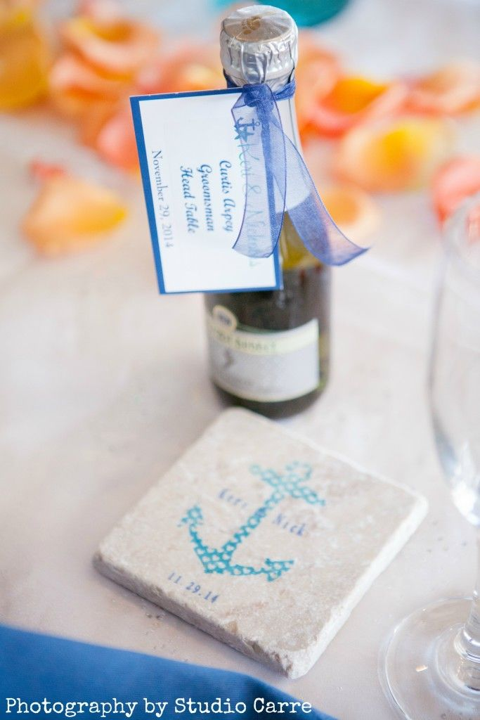 personalized wedding favor coasters by @mylittlechick #weddings