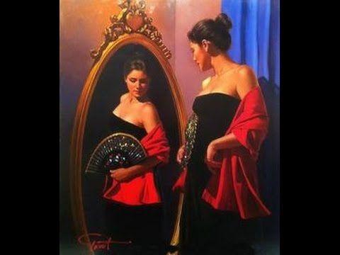 GABRIEL PICART paintings & FRANCIS GOYA Romantic Guitar