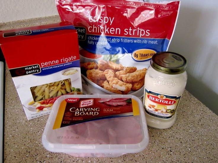 Simple Chicken Cordon Bleu Pasta