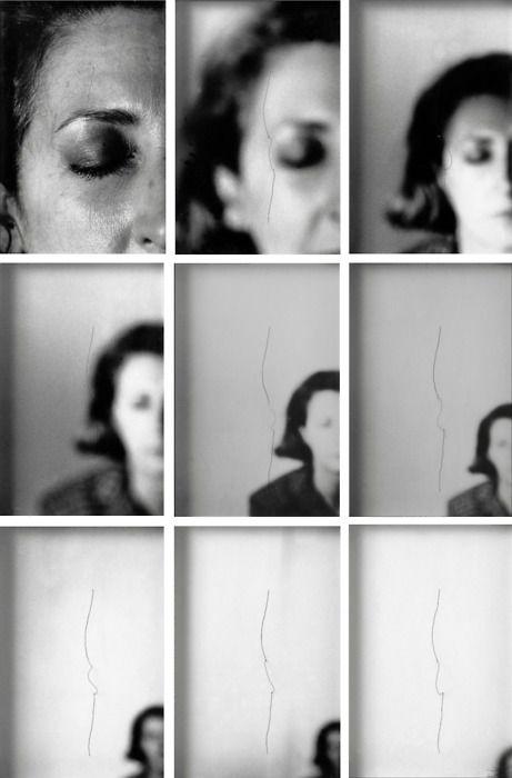 Helena Almeida, Sente me, 1979, screenshots via Film von Sylvain Bergère,