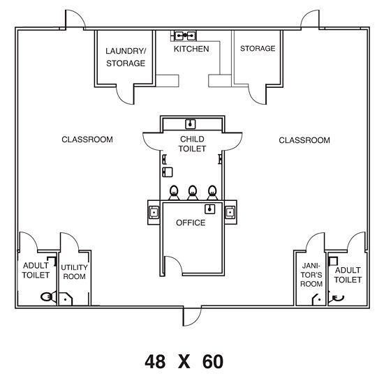 Home Daycare Design Ideas: Floor Plan For Day Care Center Project