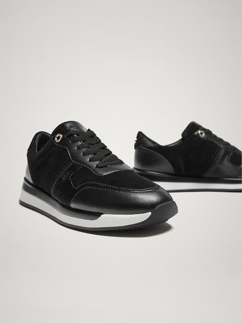 35a504b77b5b Sneakers - SHOES - WOMEN - Massimo Dutti - Republic of Ireland ...
