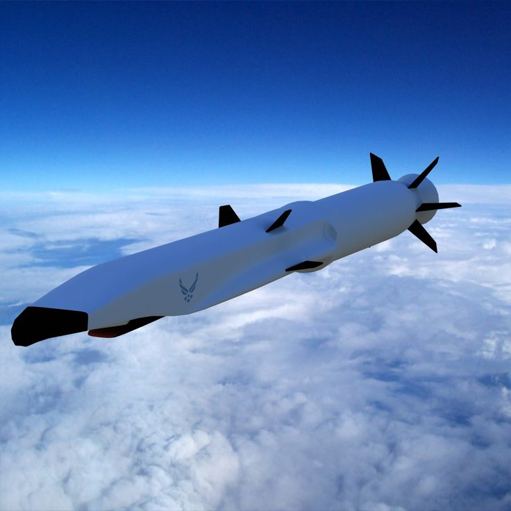 Boeing X 51 Cruise Missile 3Ds - 3D Model