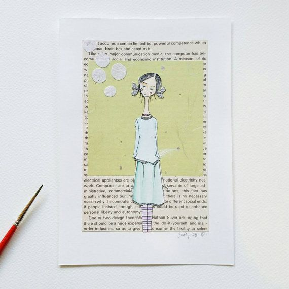 Check out this item in my Etsy shop https://www.etsy.com/listing/229687917/small-watercolour-and-ink-with-collage