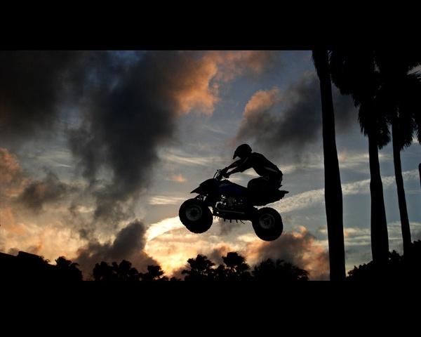 ATV. How i felt yesterday when i was riding <3 anddd i still have the boyfriends fox sweatshirt!!!