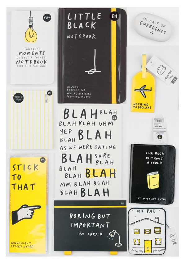 Don't let work get you down, add a bit of comedy to your daily routine with our practical, but ever so witty Smiles & Toast range of station...