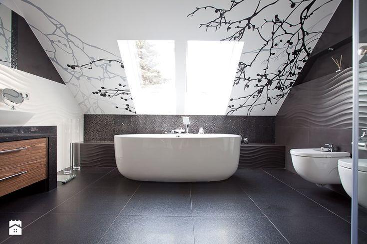 salon kąpielowy - Łazienka - Styl Nowoczesny - A2 STUDIO pracownia architektury